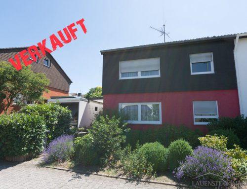 Verkauft – Doppelhaushälfte in Taunusstein Bleidenstadt