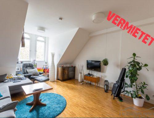 Vermietet – DG-Wohnung in saniertem Altbau