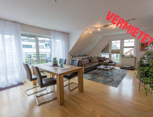 Vermietet – traumhafte DG-Wohnung in Wiesbaden Kohlheck